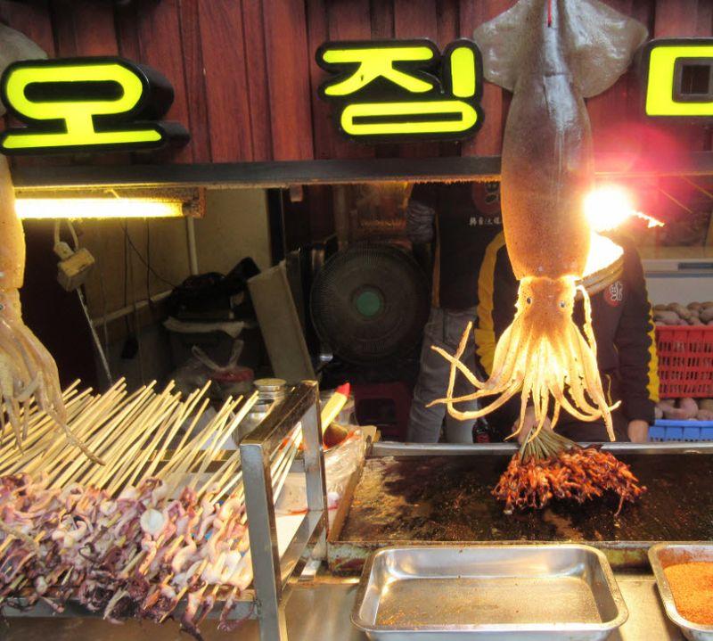 Squid-on-a-stick