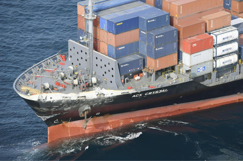 Acx crystal container ship