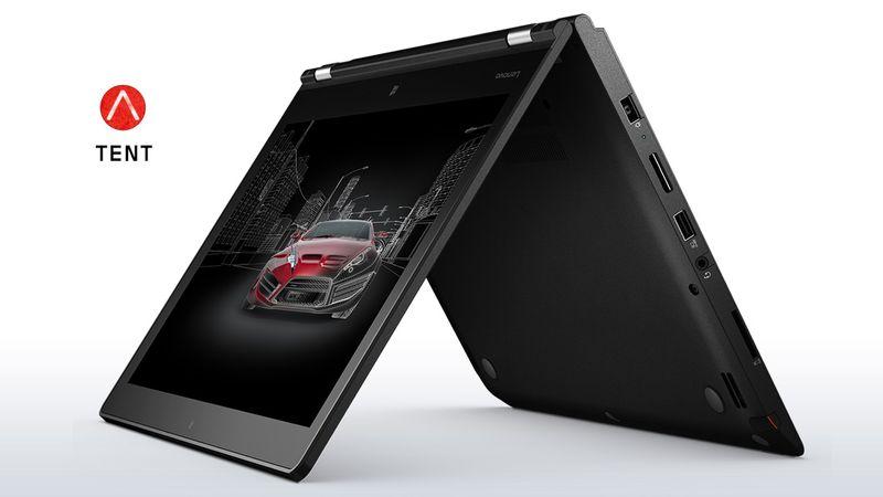 Lenovo-laptop-thinkpad-p40-yoga-tent-mode-4