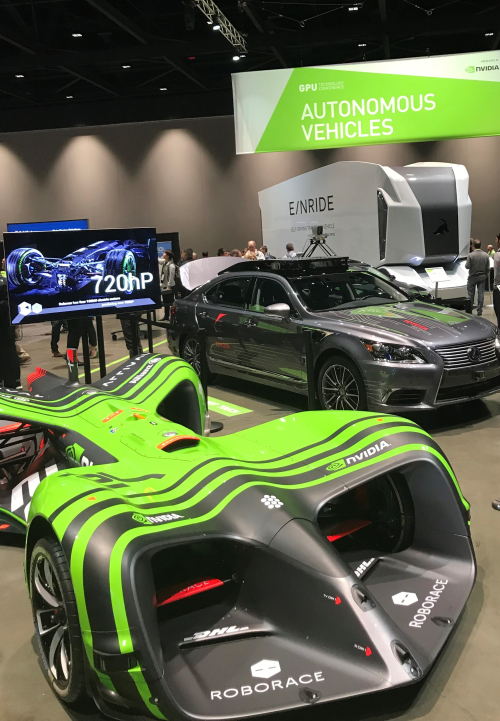 Selfdrivng cars at gtc18